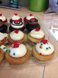 Gluten-Free mini cupcakes