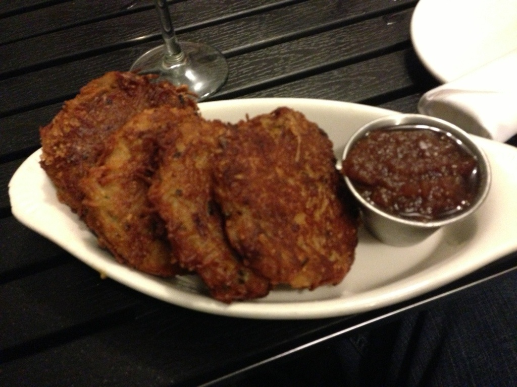 Latkes at Blue Collar. One of my favorite dishes at one of my favorite restaurants in Miami.