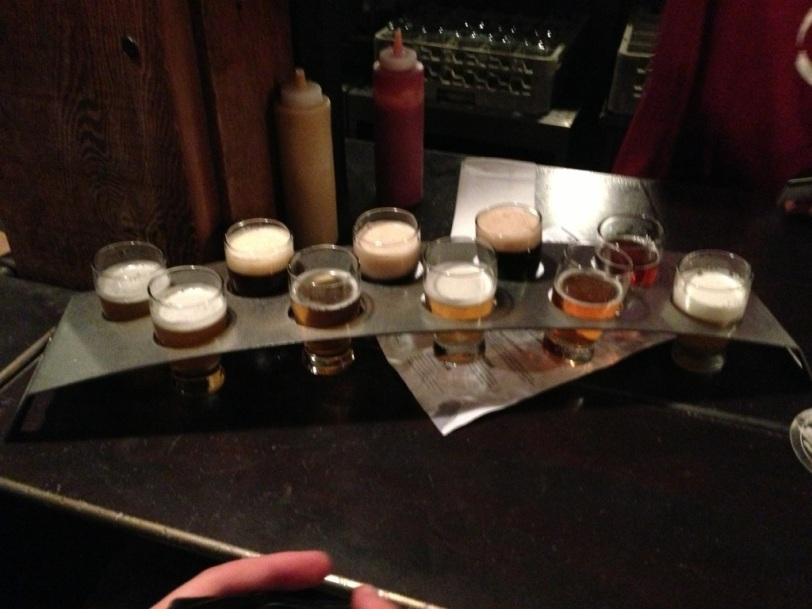 10 Barrel's Beer Sampler