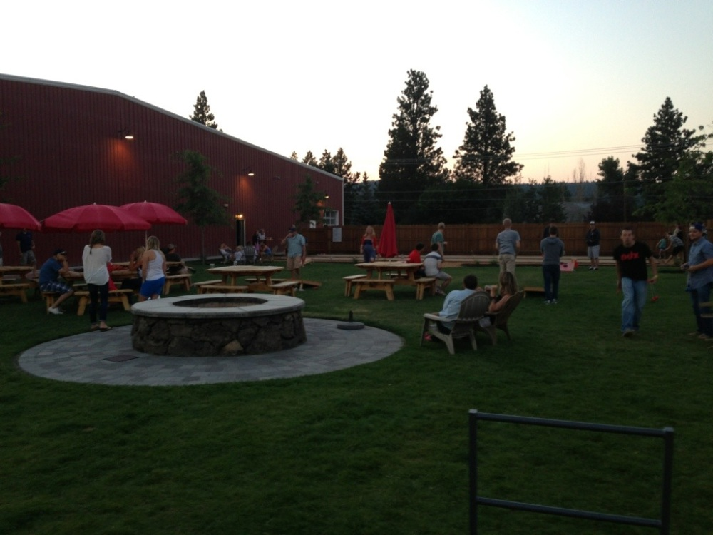 Good Life Brewing Company's Beer Garden