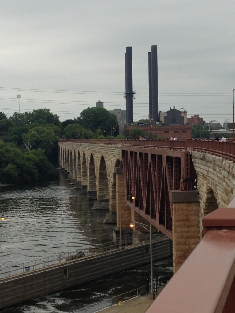 Old Stone Arch Bridge Minneapolis