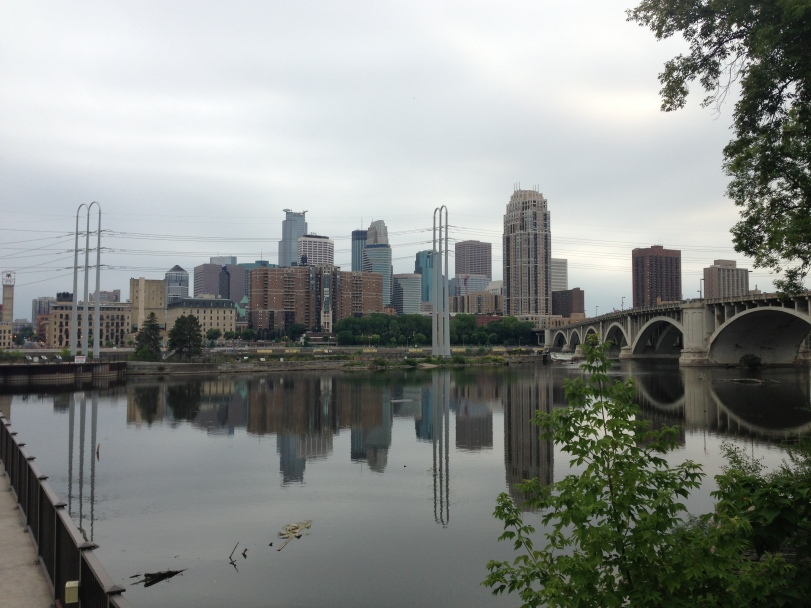 Downtown Minneapolis from the other side
