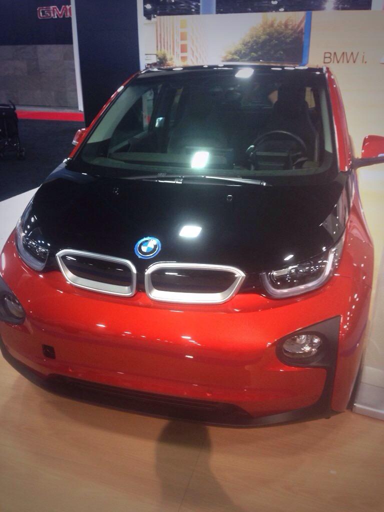 The BMW i3 electric car
