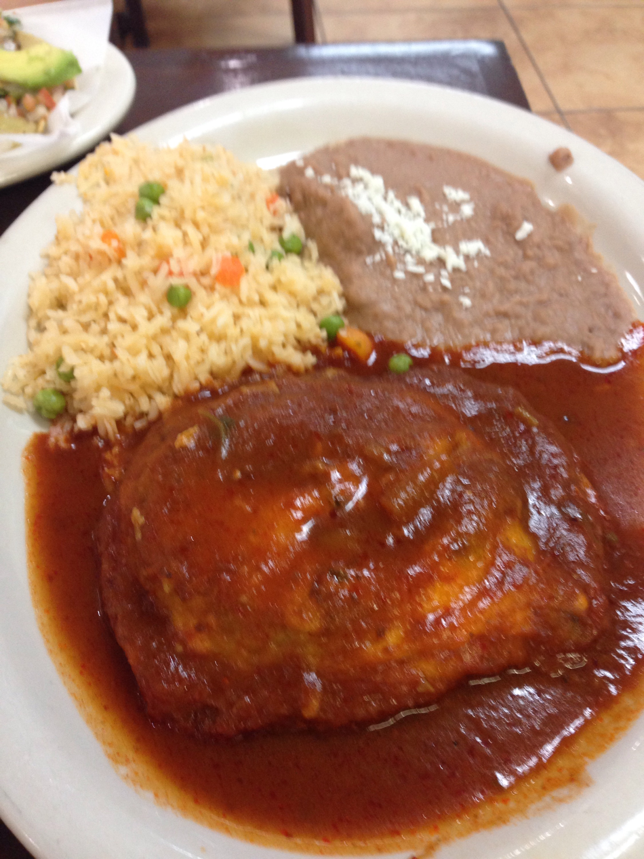 The chile relleno