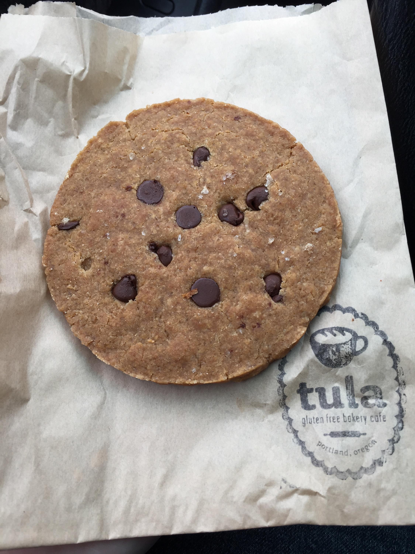 Sea salt chocolate chip cookie