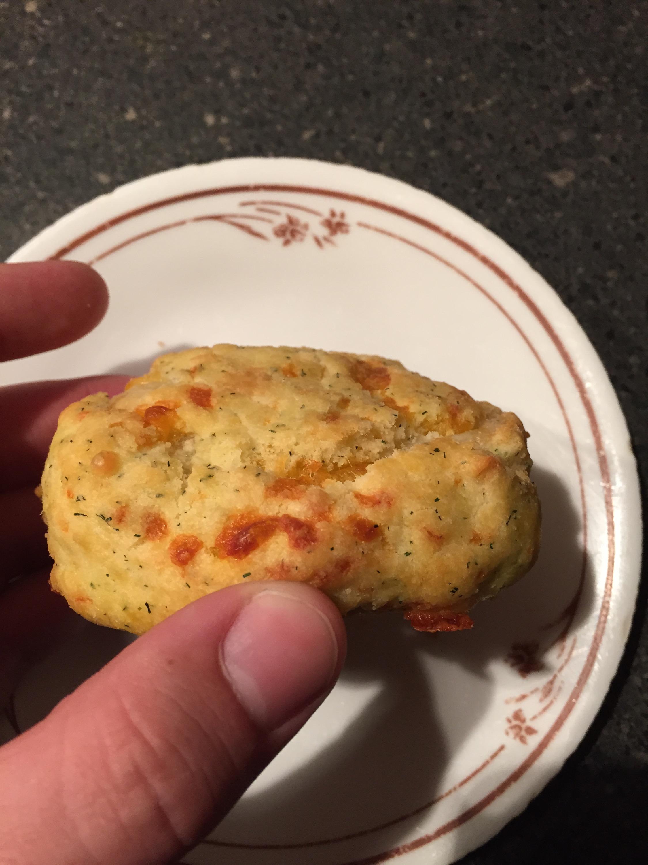 Cheddar Parmesan scone