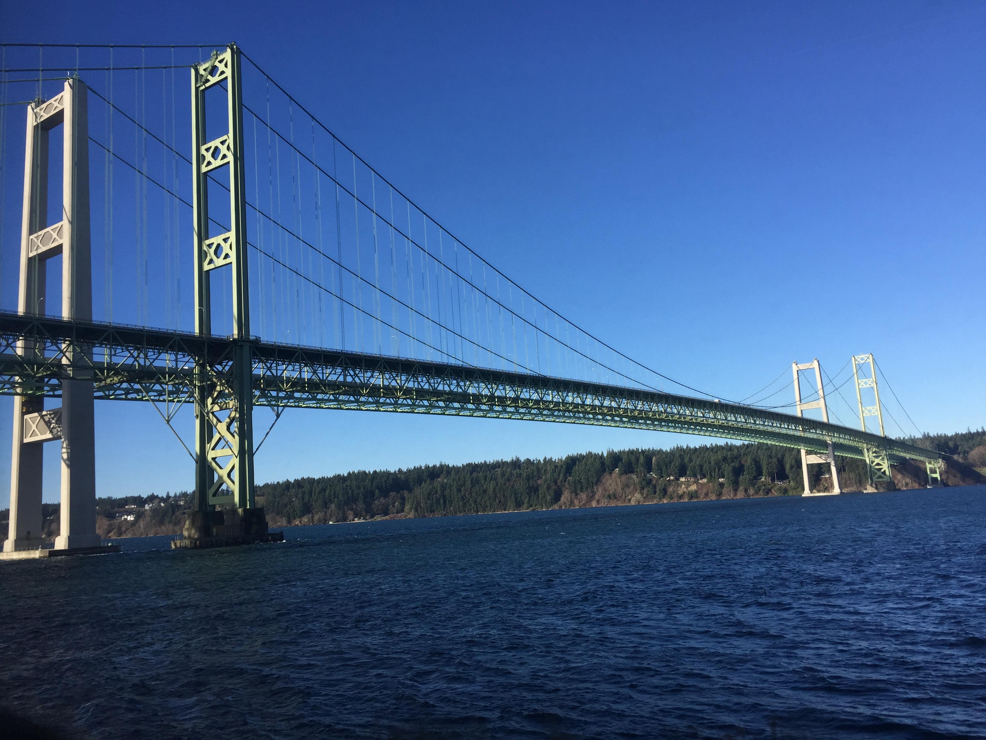The Tacoma Narrows Bridge (to Gig Harbor)