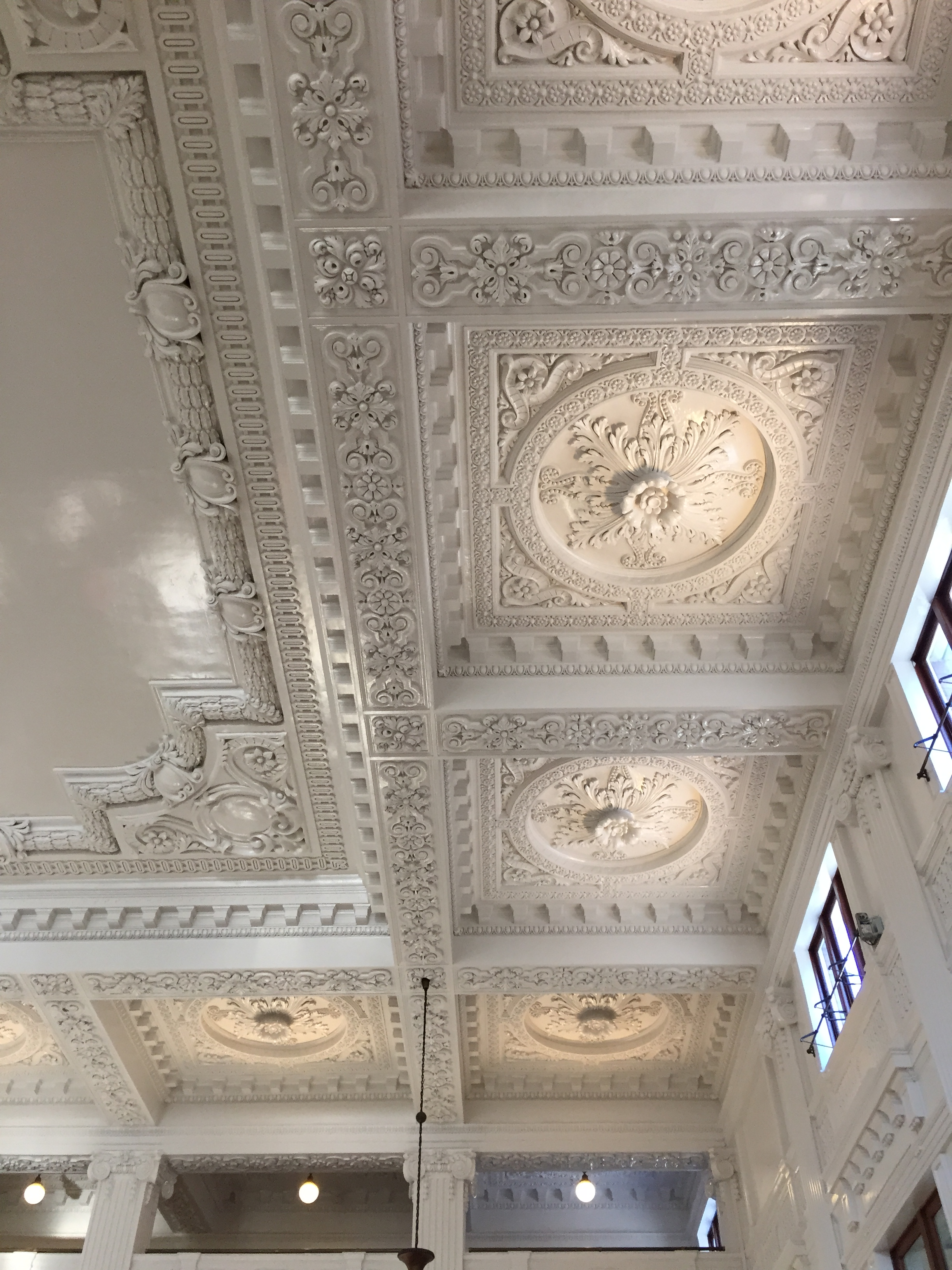 The ceiling is amazing!