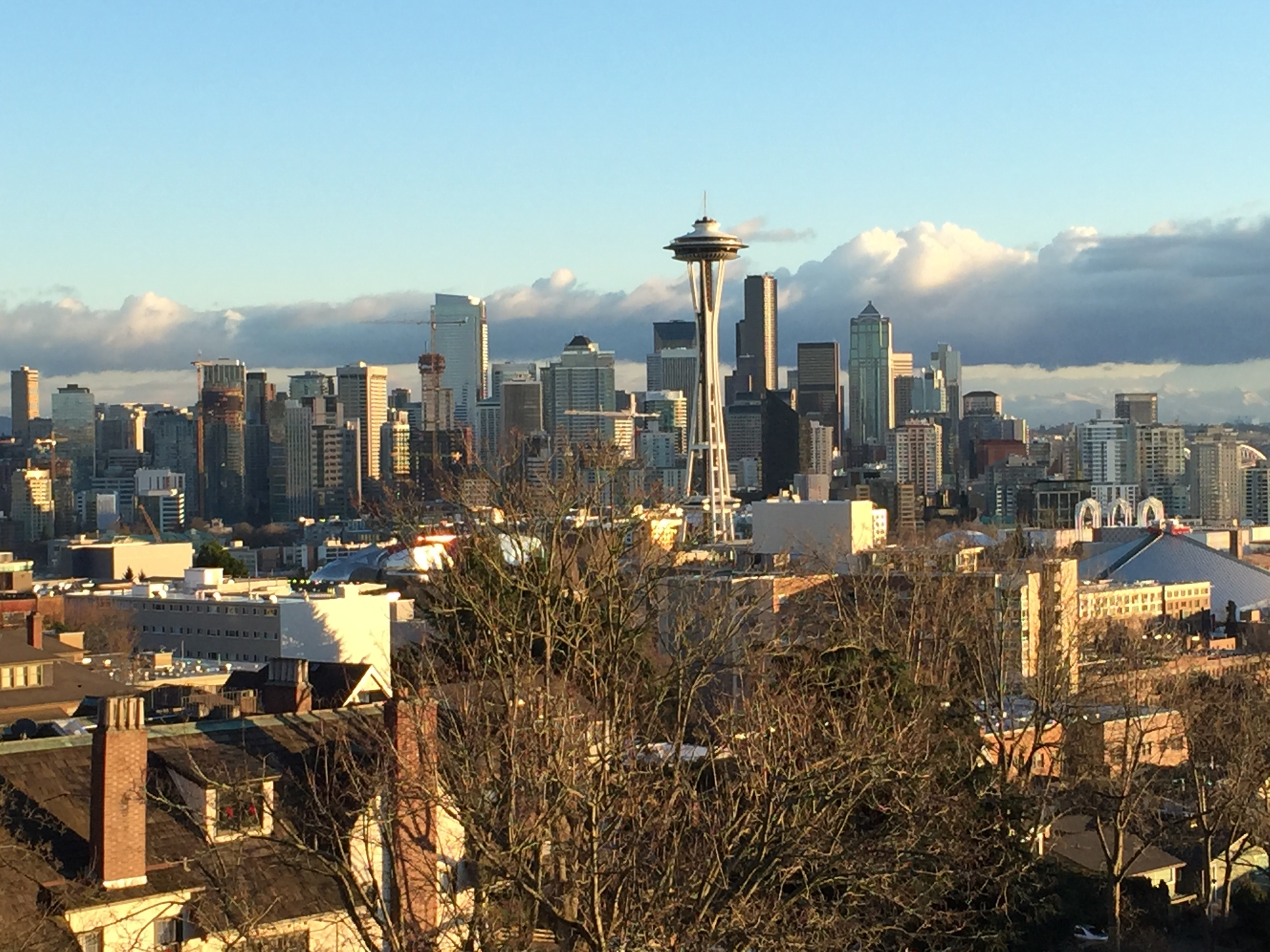 The view from Kerry Park