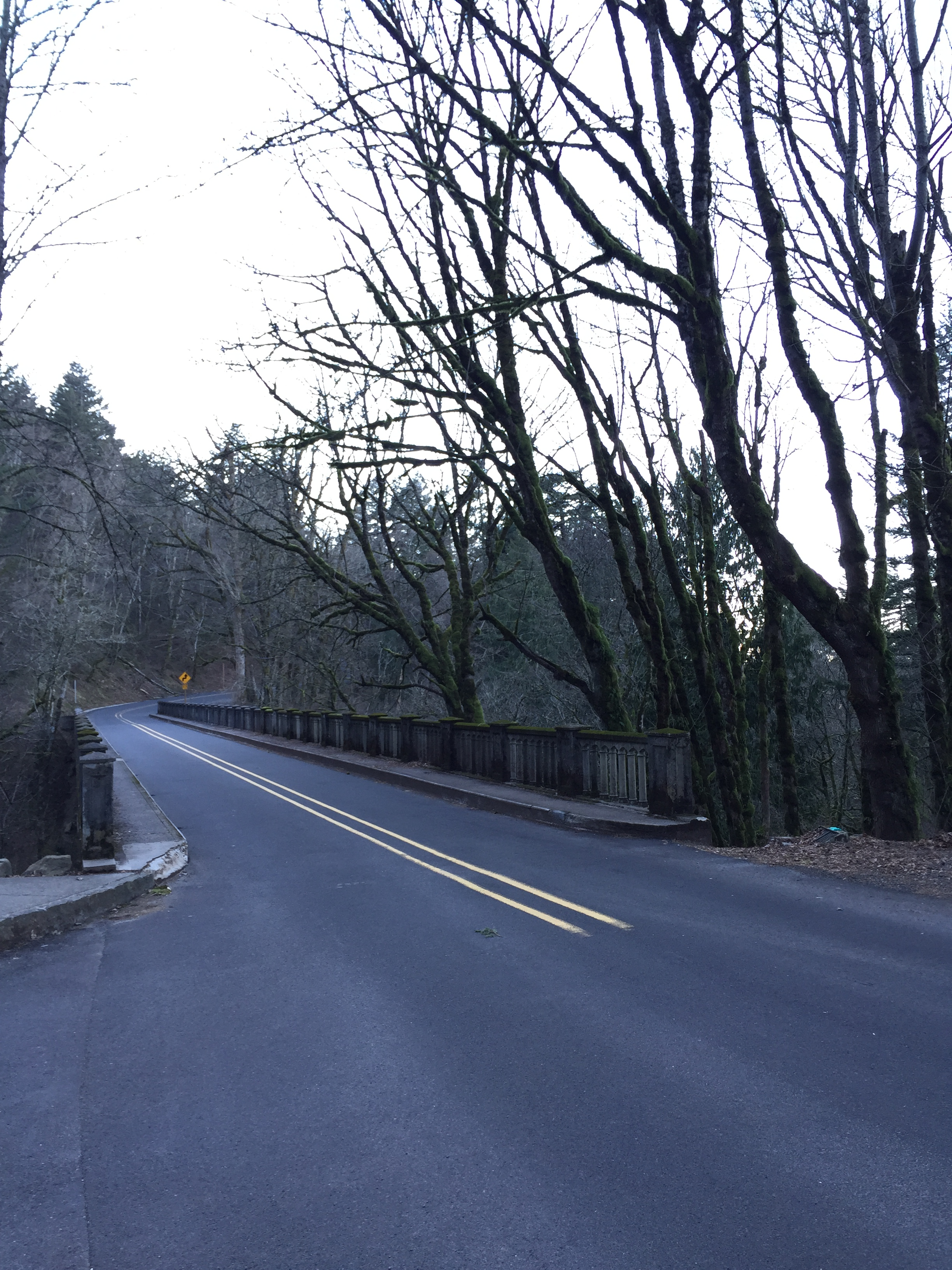 Part of the Historical Columbia River Highway