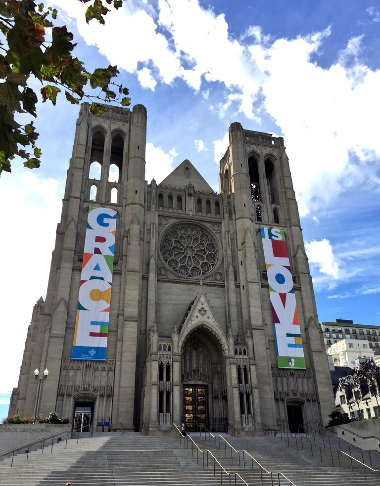 Grace Cathedral on Nob Hill