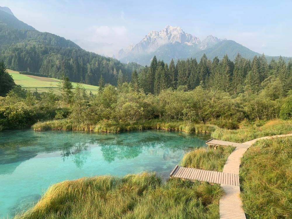 Zelenci Reservoir